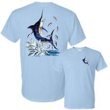 Blue Marlin Saltwater Game Fishing Deep Sea Atlantic Ocean Tee T-Shirt New
