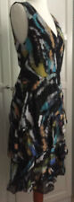 MATTHEW WILLIAMSON for H&M Kleid Dress Volantkleid Seide silk EUR 40 size US 10
