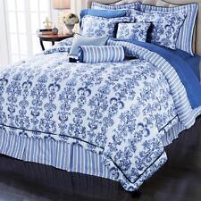 Highgate Manor Portofino 9-piece Reversible Comforter Set Full Agua NEW