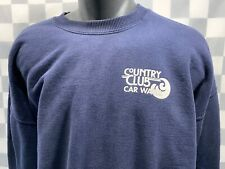 COUNTRY CLUB Car Wash Sweat Shirt Men's Size 2XL