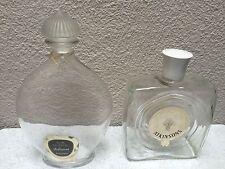 RARE Lot 2 Vintage bottles: GUERLAIN Shalimar eau de toilette  & Atkinsons