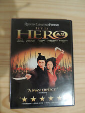 Hero (DVD, 2004) Jet Li, Tarantino Widescreen