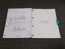 1981-1985 Mercedes Benz 300D 300CD 300TD Turbo Wiring Diagrams Manual 1983 1984