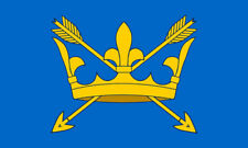 5' x 3' Suffolk Flag England English County Flags Bury St Edmunds Banner
