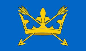 3' x 2' Suffolk Flag England English County Flags Bury St Edmunds Banner