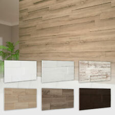 HEXIM Wandverkleidung 3D Paneele Holzpaneele aus MDF Verblender Holzwand STELLA