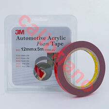 3M 1/2 x 15 ft Double Sided Foam Adhesive Tape 30321 Automotive