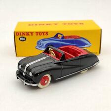 DeAgostini 1/43 Dinky Toys 106 Austin Atlantic Convertible Black Diecast Models