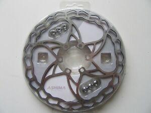 Ashima Ai2 Super light disc brake rotor 160 mm 6 bolt NEW 73g (2489)