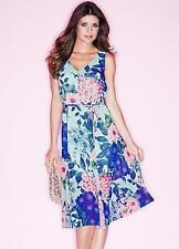Kaleidoscope Polyester V Neck Empire line Dresses for Women