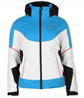 Nevica Whistler Ski Jacket Ladies Blue/White Size UK 10 (S) *REF104
