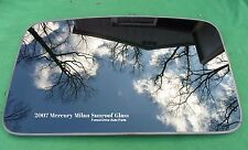 2007 MERCURY MILAN YEAR SPECIFIC OEM FACTORY SUNROOF GLASS FREE SHIPPING!