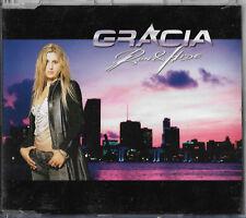 "Gracia ""Run & hide"" Eurovision Germany 2005  3 track maxi cd + video"