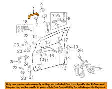TOYOTA OEM 07-11 Yaris-Outside Exterior Door Handle 6921152090H1