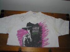 Vintage GARTH BROOKS No Fences White T-Shirt Autographed by First Wife
