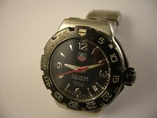 TAG HEUER Formula 1 Professional Date Black Dial 200M  Watch WAC1210