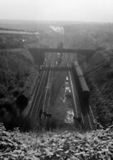 PHOTO  GAER JUNCTION FROM ABOVE THE TUNNEL 12TH NOV 1958 (2)