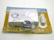 Hampton Bay HB-7830-03 Wireless MP3 Door Bell Kit Push Button 150Ft. Range 128MB
