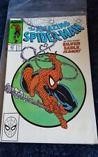 the amazing spiderman 301 silver sable issue 1988 comic