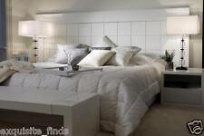 DRESS YOUR BEDROOM IN VERSACE MODERN GREEK KEY PRINT COMFORTER King size