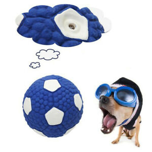 Tennis Interactive Pet Latex Toy Ball Football Sound Tooth Dog Chew Toy JA