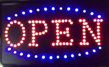 Open Neon Led Sign,Shop sign,Store business sign,window sign,smoke shop 23 X 14