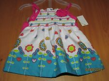 Baby Girls 2 pc. outfit, tank&shorts, Flower & paisley,nwt, 3-6 m. free shipping