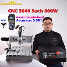 CNC 3040Z-DQ 3-axis Router 800W Engraving Mach 3 USB Cutting Engraver Machine