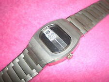 alte Digital Herren Armbanduhr Automatik Uhr - wohl 70er Jahre
