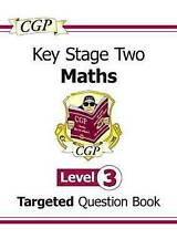 KS2 Maths Question Book - Level 3 by CGP Books (Paperback, 2008)