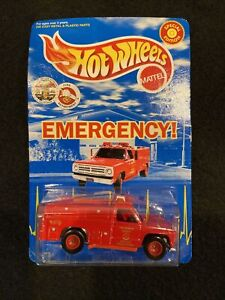 "Hot Wheels LOS ANGELES County ""EMERGENCY""  Squad 51 ""PARAMEDIC"" 1999 Mattel Prot"
