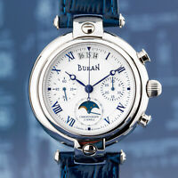 BURAN Poljot Basilika Chronograph 31679 russische mechanische Uhr Mondkalender