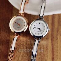 Women Lady Girl Fashion Quartz Wrist Watch Elegant Bracelet Watches Round New