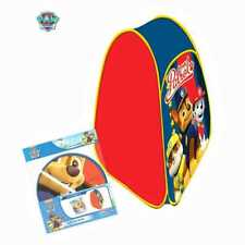 Oficial Paw Patrol Pop Up Plegable Carpa interior al aire libre campamento Play House Den