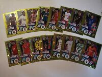 Match Attax 2020/21 Champions League Set of 16 Rising Stars inc Fati, Greenwood