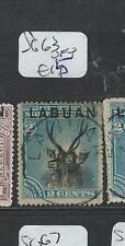 LABUAN (P2101B) 2C  DEER  SG63  VFU