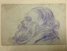 ORIGINAL DRAWING Signed ~ FRENCH ANARCHIST ~ 1919 Pierre LARIVIERE