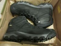 New Mens Keen Targhee Lace Boots Trail Hiking Shoes Sz 9.5 Black / Raven