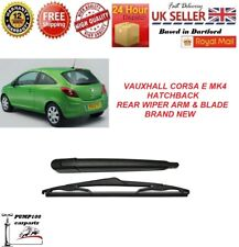 VAUXHALL CORSA MK4 E HATCHBACK 2014-2019  REAR WIPER ARM & BLADE WINDSCREEN NEW