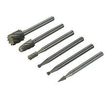 Confezione da 6 HSS Router Cutter Bits Set - 3.1 mm di diametro mandrels