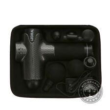 OPEN BOX Legiral Le3 Deep Tissue Massage Gun with 6 Massage Heads in Black