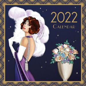 Art Deco - Claire Coxon - 2022 Square Wall Calendar