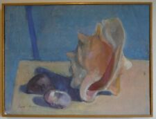 David K. Gordon Listed New York City NY USA Original Still Life Painting Conch
