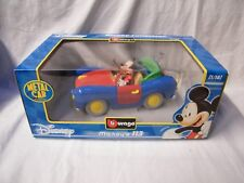 MICKEY'S 113  DISNEY COLLECTION BBURAGO SCALA 1/18