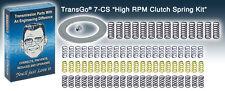 700R4 4L60 4L60E 4L65E TransGo High RPM Clutch Spring Kit 7-CS