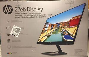 HP 27eb Display - IPS-LED Backlit Monitor