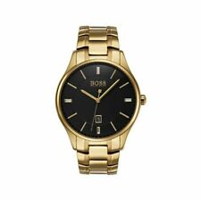 Ex Display Model - Hugo Boss Men's Governor Stainless Steel Gold Watch HB1513521