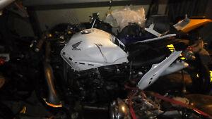 Honda CBR 650 2011 Engine Bolt Breaking Complete Bike