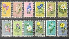 - Polen Poland 1962 Mi. Nr. 1325-1336 ** postfrisch MNH Blumen flowers
