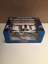 🆕 2000 Gearbox 1/43 Diecast POLICE INTERCEPTOR CAR PROVIDENCE - Limited To 2500